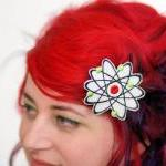 Tattoo Hair Clip, Love Hear..